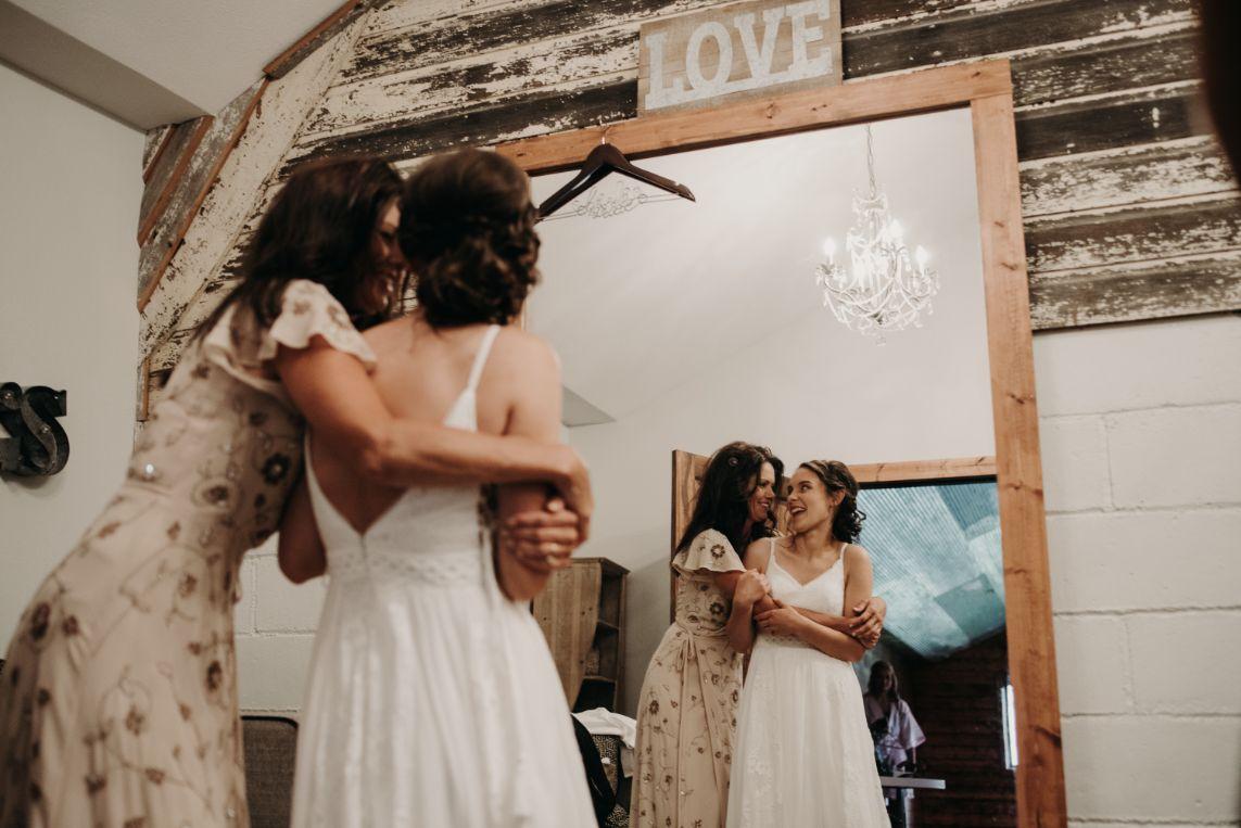 Wedding at the Canton Barn