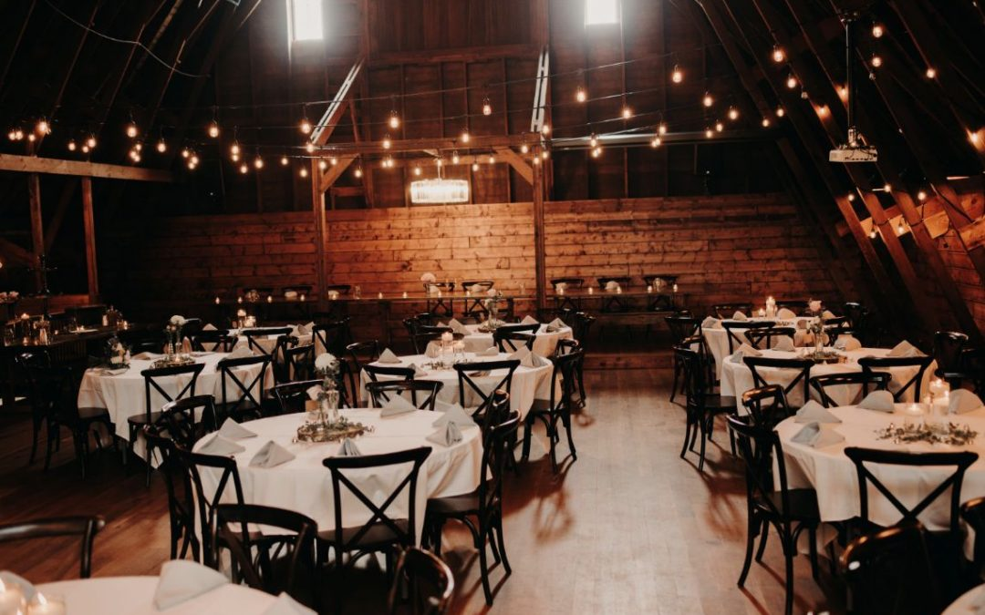 What to Expect at Your Barn Wedding Event Experience