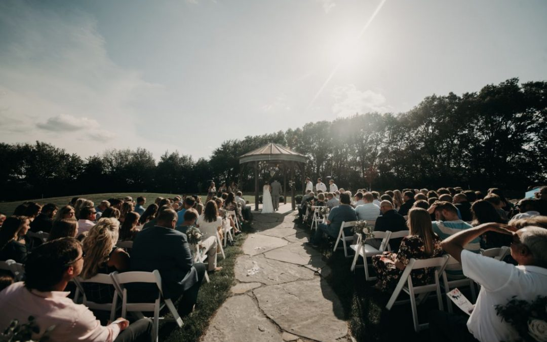 Wedding at the Canton Barn
