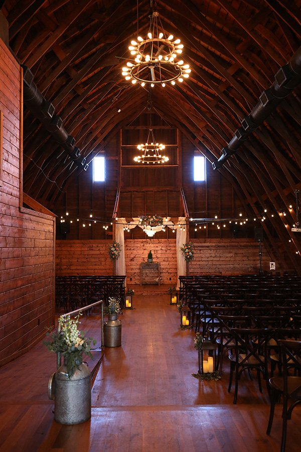 The Canton Barn interior